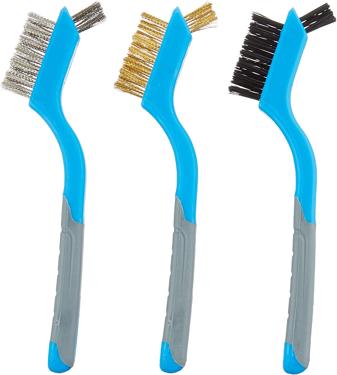Roughneck Mini Wire Brush Set of 3