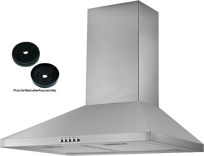 Extractor de cocina Cookology CMH605SS, de acero inoxidable, 60 cm: Amazon.es: Grandes electrodomésticos