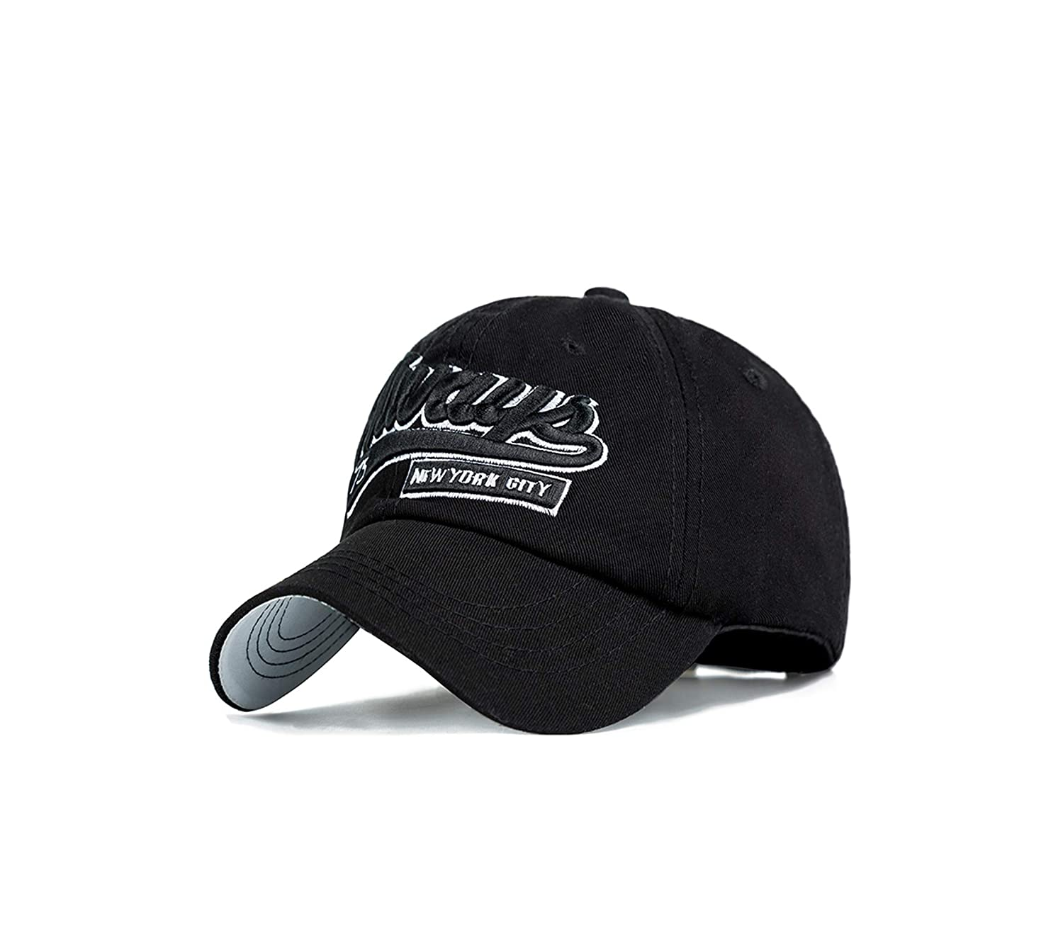 Fashion Embroidery Letter Baseball Cap Men Outdoor Hats Casual Hat Women Pure Color Bone