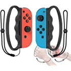 Fitness Boxing Hand Grip Compatible with Joy Con Controller, Compatible with Nintendo Switch/Switch OLED Model 2021 Controlle