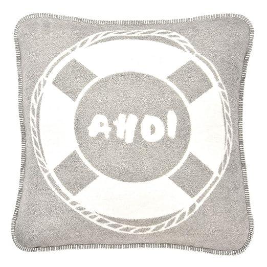 pad AHOI - Funda para cojín (60 x 60 cm), Color Gris: Amazon ...