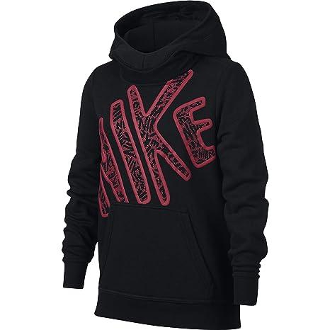 184321ce1128 Amazon.com  NIKE Girls  Club Graphic Hoodie  Sports   Outdoors