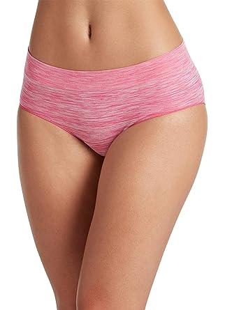 2504a8487474 Jockey Women's Underwear Sporties Heathered Hipster, Fuchsia Berry, ...