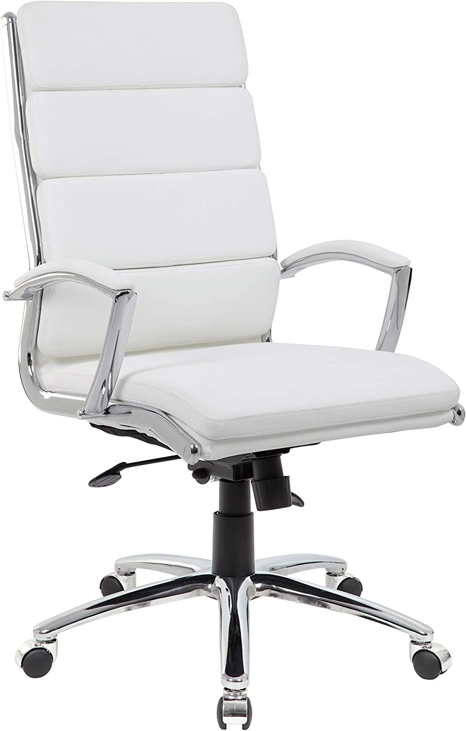 Boss Office Products Executive Chair, White
