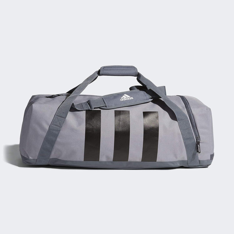 3e4a97957 Amazon.com | Adidas 3-Stripes Medium Duffle Bag Grey | Travel Duffels