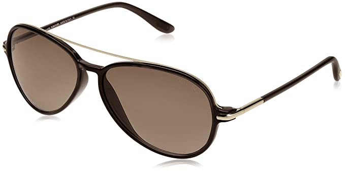 9a52538cefd7 Image Unavailable. Image not available for. Colour  Tom Ford Ramone TF 149  01J Black Gold Sunglasses