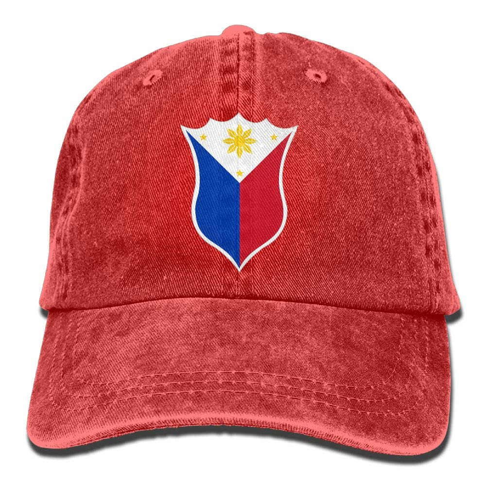 LETI LISW Flag PhilippinesClassicBaseball Cap Adult Unisex Adjustable Hat