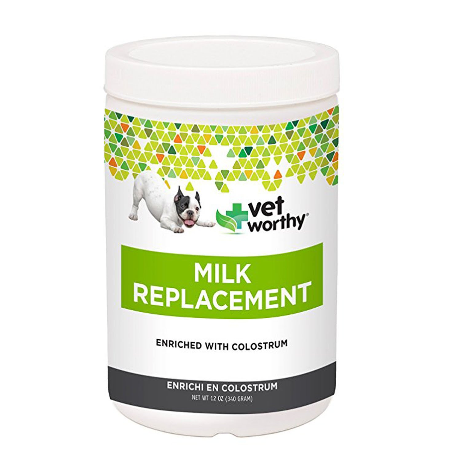 Puppy Milk Replacer Powder Made in USA Nutritional Supplement 12 Ounce