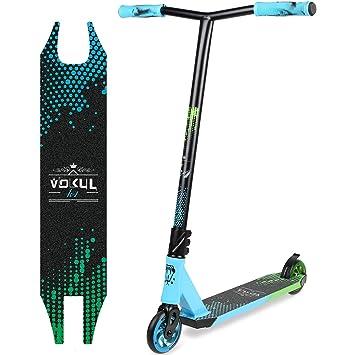 Vokul BZIT K2 Patinetes de Acrobacias Stunt Scooter Pro Freestyle de Color Mixto - con Ruedas