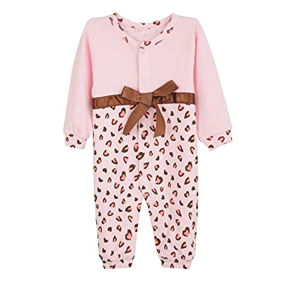Baby Layette 0-12M Rompers Newborn Cotton Casual Long Sleeve Jumpsuit Children Clothing
