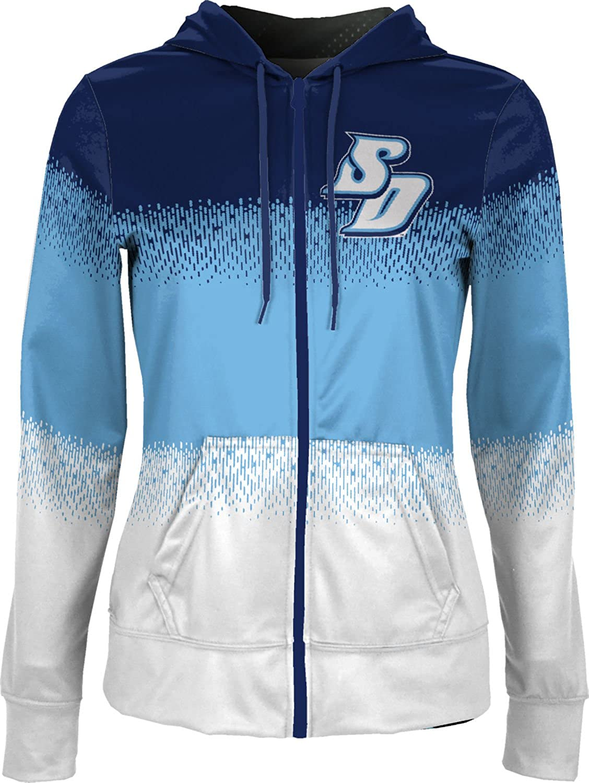 University of San Diego Girls Zipper Hoodie School Spirit Sweatshirt Drip