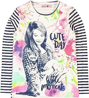 Boboli Mädchen T-Shirt Stretch Knit for Girl