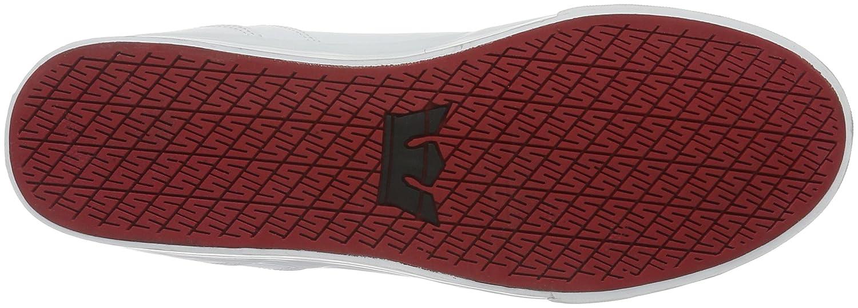Supra Vaider Skate Shoe B011JII6RK 9.5 M US|White-white