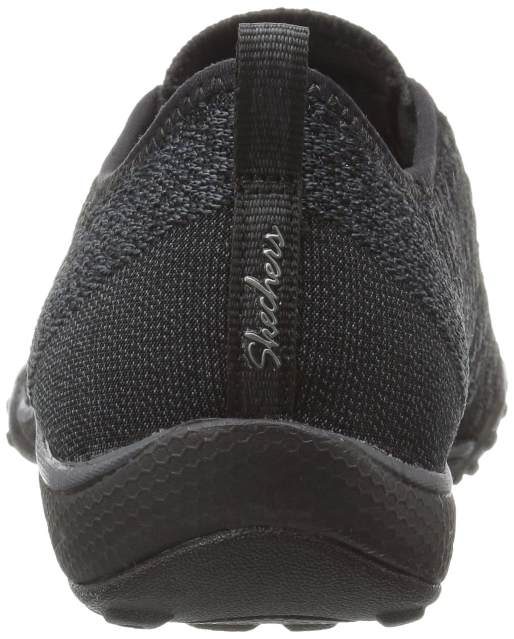 Skechers Sport Women's Breathe Easy Fortune Fashion Sneaker,Black Knit,5 M US by Skechers (Image #2)