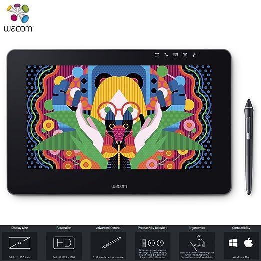 Wacom Cintiqu Pro 13 Graphic Tablet   Dth1320 K0 (Renewed) by Amazon Renewed