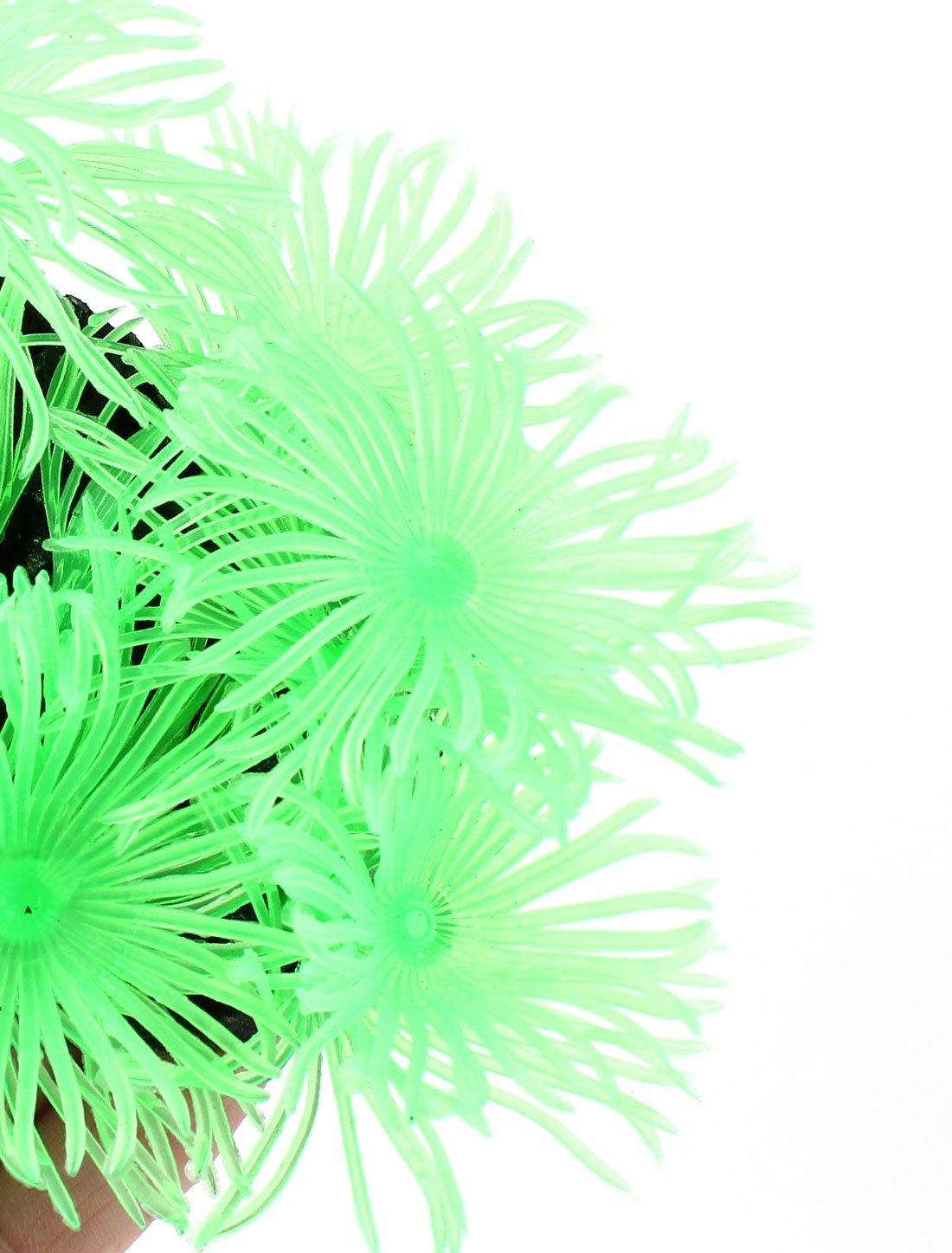 Amazon.com : Planta Bajo el agua del acuario de emulación de silicona 3, 9 pulgadas Altura Verde : Pet Supplies