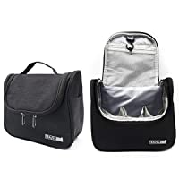 Travel Makeup Bag Women Hanging Toiletry Bag Multifunction Cosmetic Pouch Navy Portable...