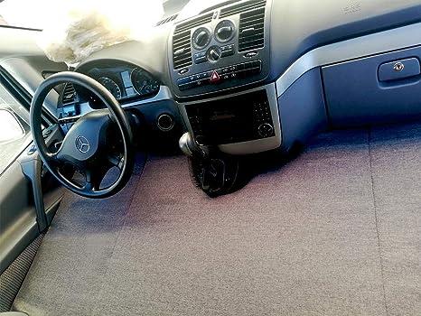 kfoam.es K´Foam Colchón Plegable Cama Delantera Camper para Mercedes Viano Color Gris