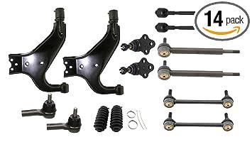 Amazon.com: Detroit Axle – 14 brazos de control inferior ...