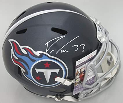 online store 1ae74 38c21 Amazon.com: Tenn Titans Dion Lewis 33 Autographed Signed ...
