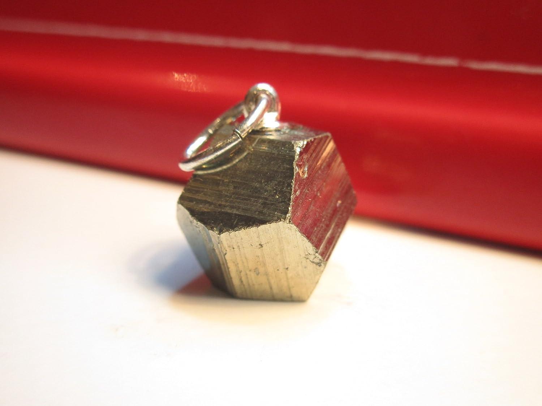Natural /& Books : Pendentif Pyrite EXTRA Lithoth/érapie : Pers/év/érance Purification Direct et Honn/ête pierre naturelle