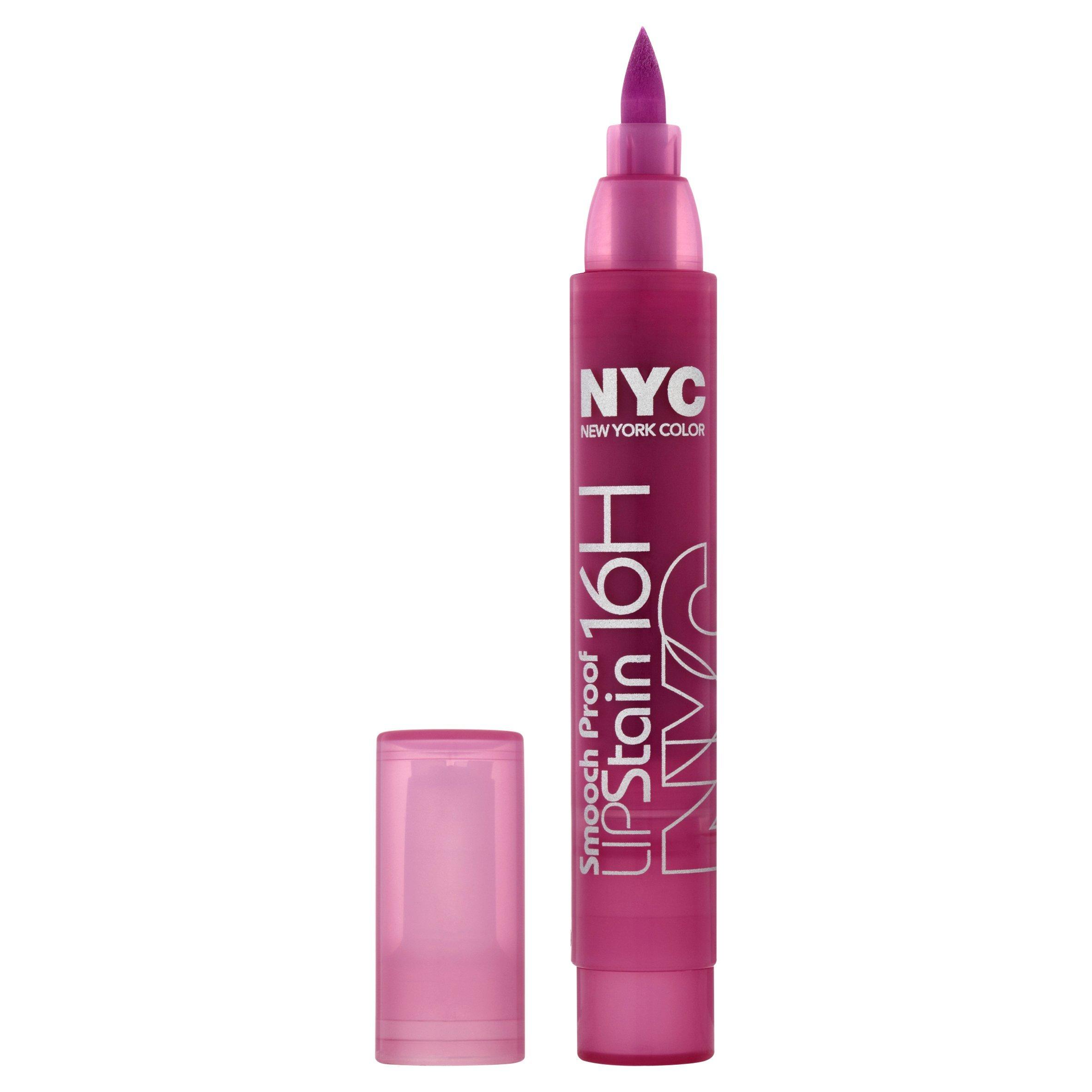 New York Color Smooch Proof Lip Stain, Orever Freesia, 0.1 Fluid Ounce