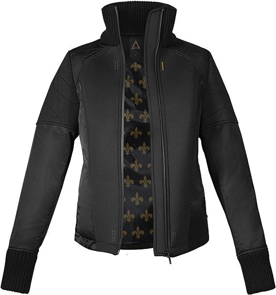 Musterbrand Deus Ex Jacke Damen Hengsha Futuristic Design schwarz:  Amazon.de: Bekleidung