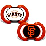 MasterPieces Baby Fanatic MLB San Francisco Giants Infant and Toddler Sports Fan Apparel, Multicolor