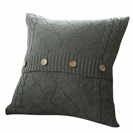 Fundas de almohada de punto elegante, bellelove venta ...