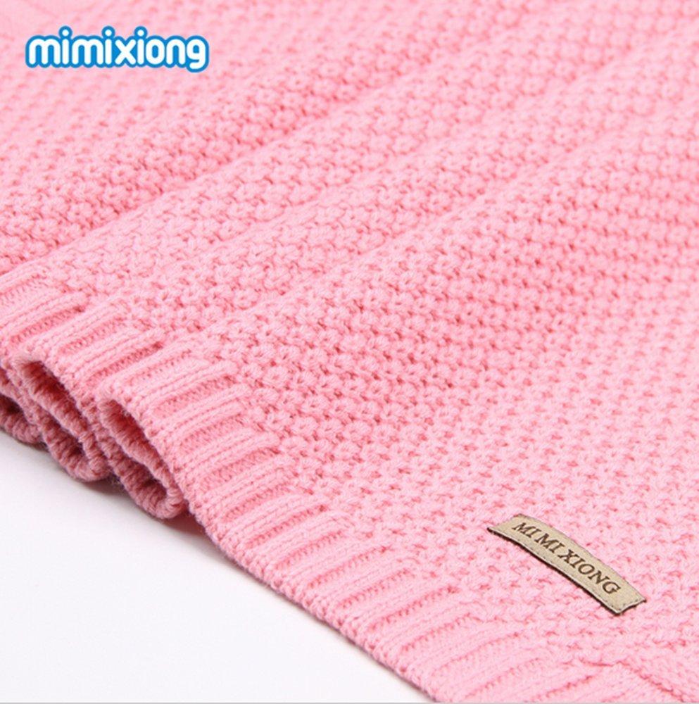 Hi8 Store de punto patrones bebé cochecito manta para cama ...