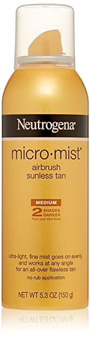 best cheap drugstore self tanning spray