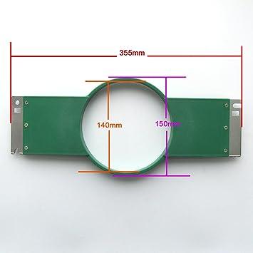 KUNPENG - 1 conjunto de aro de bordado (1 bastidor + 1 anillo) 15