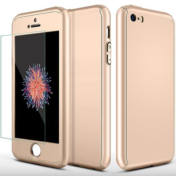 Amazon.com: iPhone 5S Case, iPhone 5 Case, MCUK Full Body ...