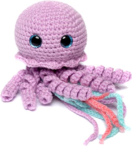 Happy jellyfish amigurumi pattern | Crochet patterns, Octopus ... | 468x425