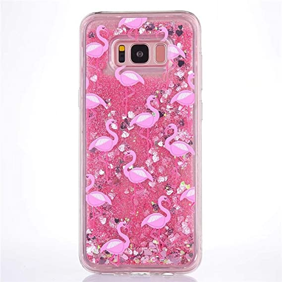 Cellphones & Telecommunications Phone Bags & Cases Glitter Liquid Case For Samsung S8 Clear Hard Plastic Case Liquid Cover For Samsung S8 Plus Dynamic Bling Sand Phone Case