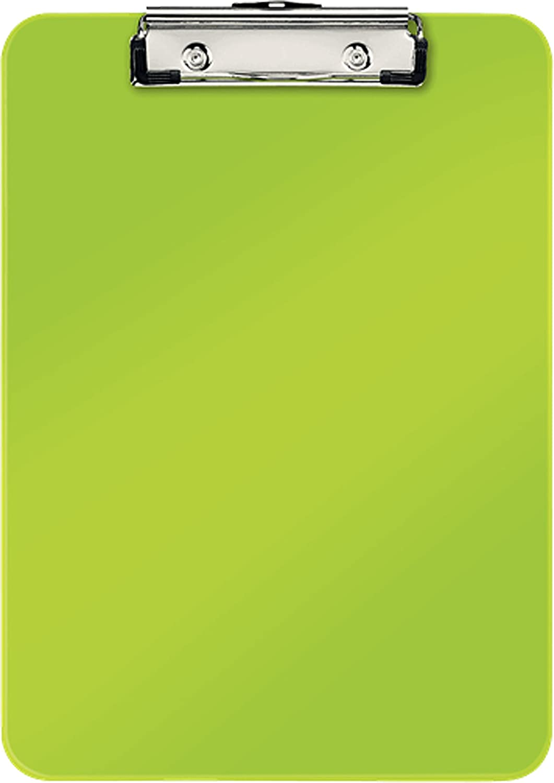apfel grün opak mit Klemm-Mechanik Herlitz 11226610 Klemmbrett A4
