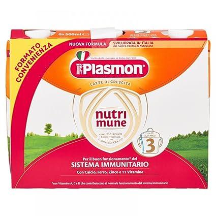 Leches de plasmones De Nutrimune Continuación 3 24x500ml Líquido
