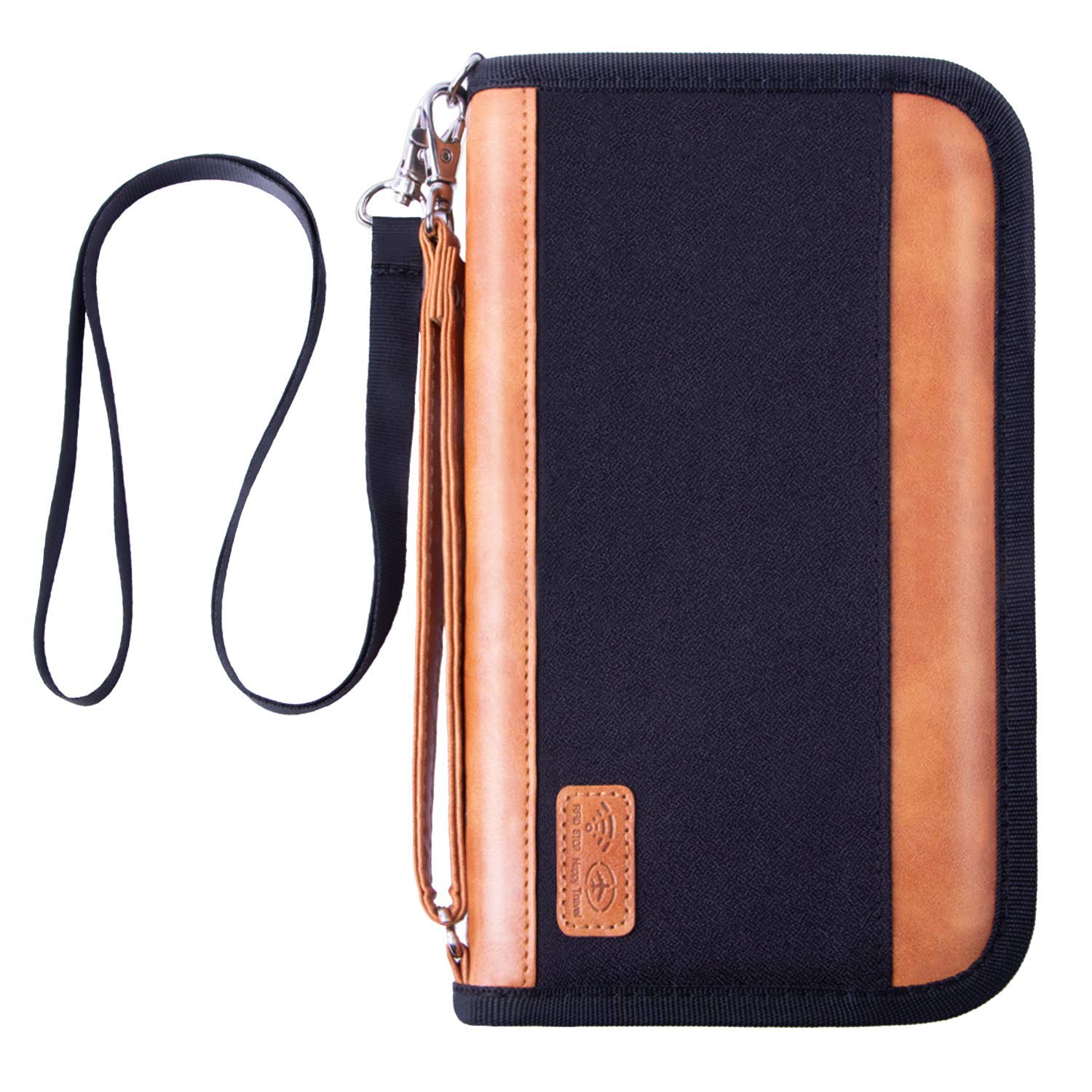Travel Neck Pouch Neck Wallet with RFID Blocking - Passport Holder to Keep Your Cash And Documents Safe