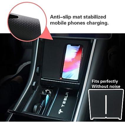 Amazon.com: Tesla - Bandeja de carga inalámbrica con doble ...
