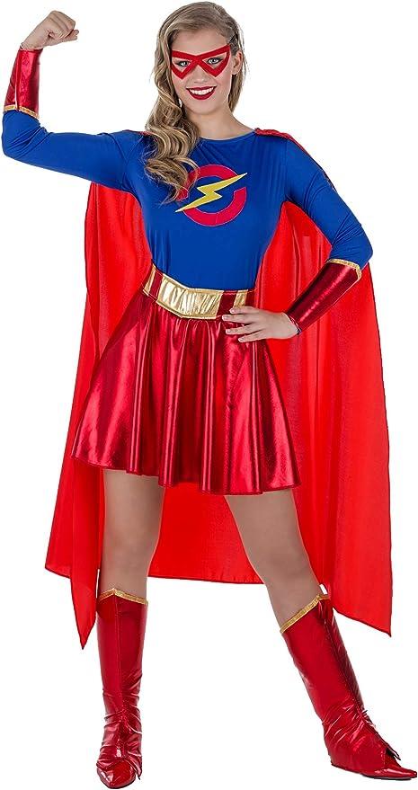 Banyant Toys Disfraz Super Heroina Mujer: XL: Amazon.es: Juguetes ...