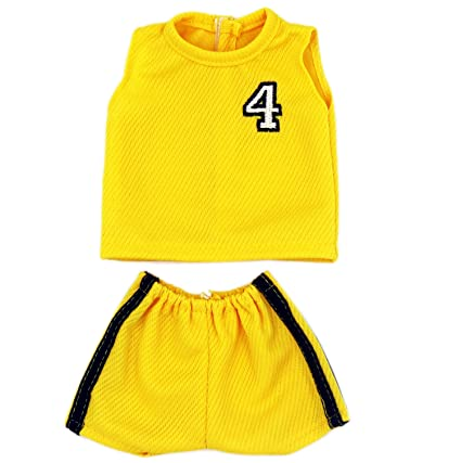 Amazon Com Baby Doll Sports Clothes Aoful Basketball Football