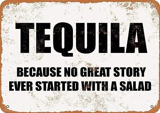 Kia Haop Tequila Metal Fender Cartel De Chapa Placa Jardin ...