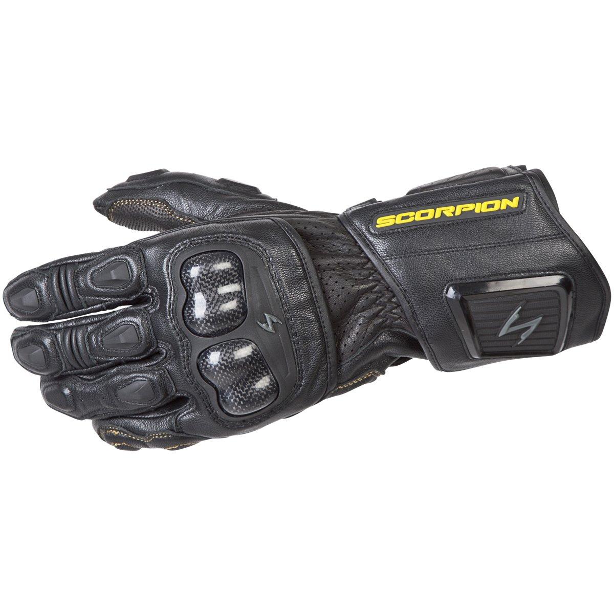 ScorpionExo SG3 MKII Men's Long Gauntlet Sport Gloves (Black, Large)