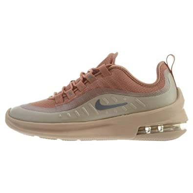 38ce7915 Nike Women's WMNS AIR MAX AXIS Fitness Shoes Multicoloured (Terra  Blush/Metallic Cool Grey