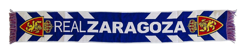 Real Zaragoza Bufzar Bufanda Telar, Azul/Blanco, 140 x 20 cm: Amazon.es: Deportes y aire libre