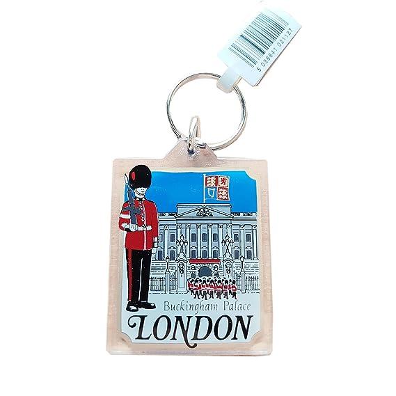 My London Souvenirs - Llavero Blanco blanco: Amazon.es: Equipaje