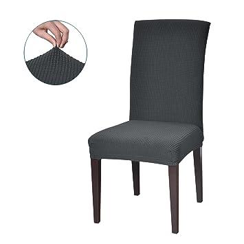 Subrtex Stuhlhussen Stretch Stuhlbezug Aus Elastik Stoff Mit Gummiband  Dekoration Abdeckung Für Stuhl.