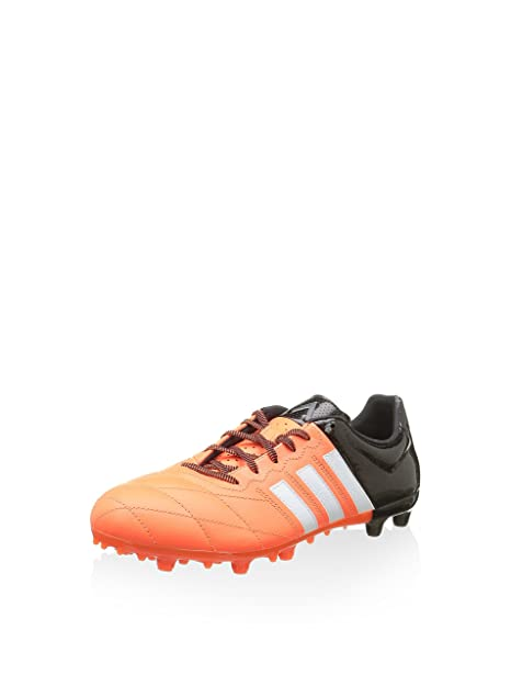 2fdffaf3e97625 adidas Herren Ace Low Fg Ag Lea Fußballschuhe Orange 40