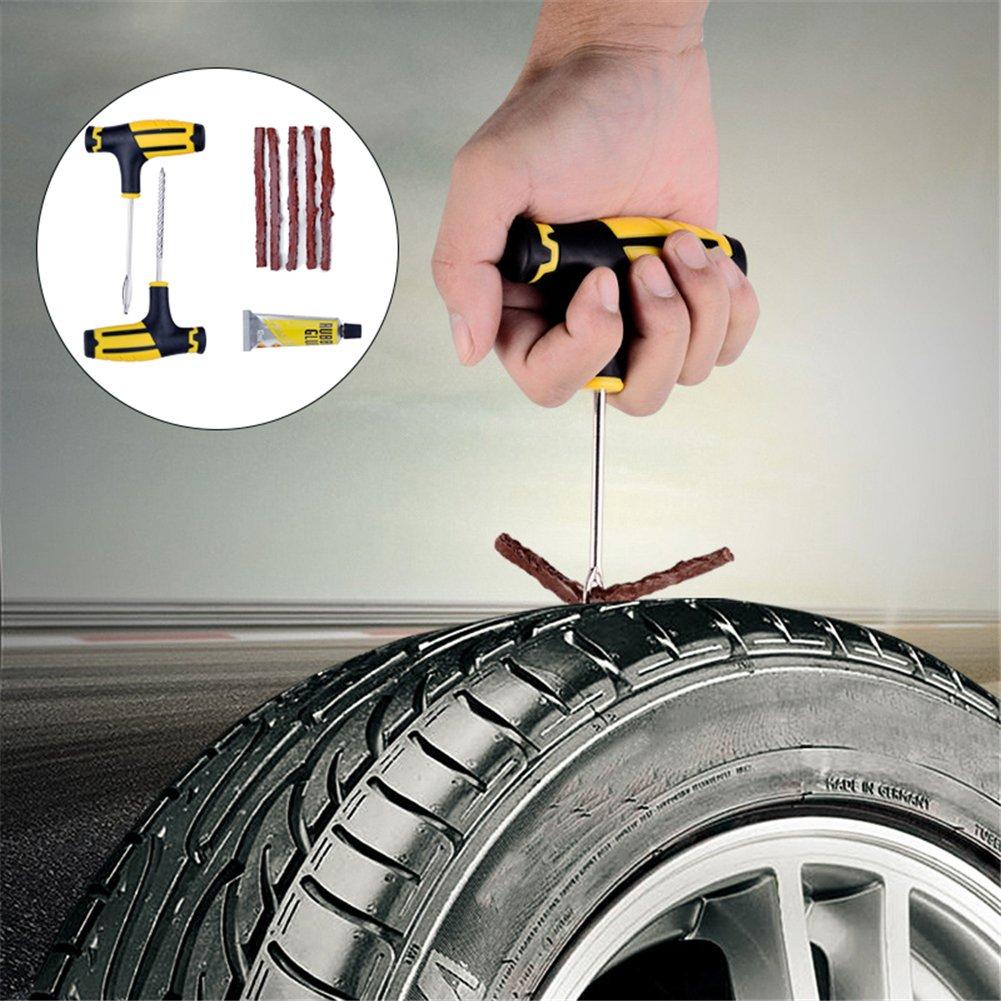 1Profi-Set für Auto-// Motorrad-// Fahrrad-Reifen-Reparatur Werkzeug-Set sweetlife