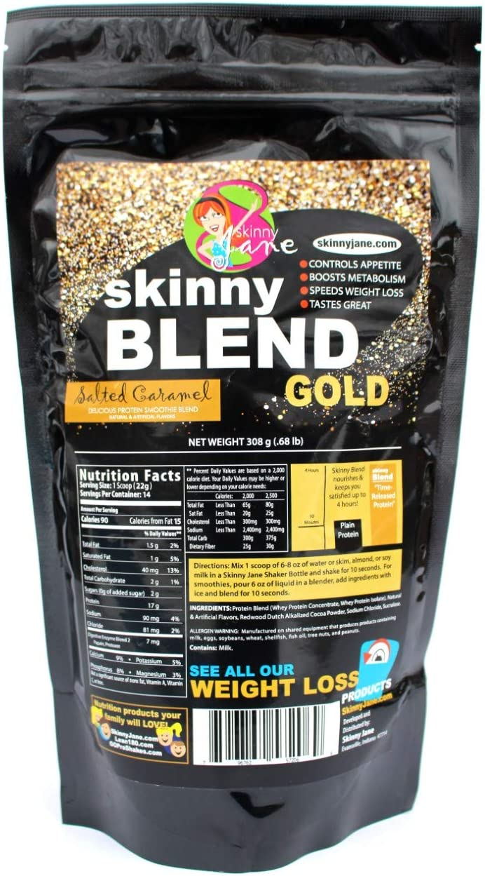 Amazon.com: Vender! - Skinny Blend Gold! Batido de proteínas ...